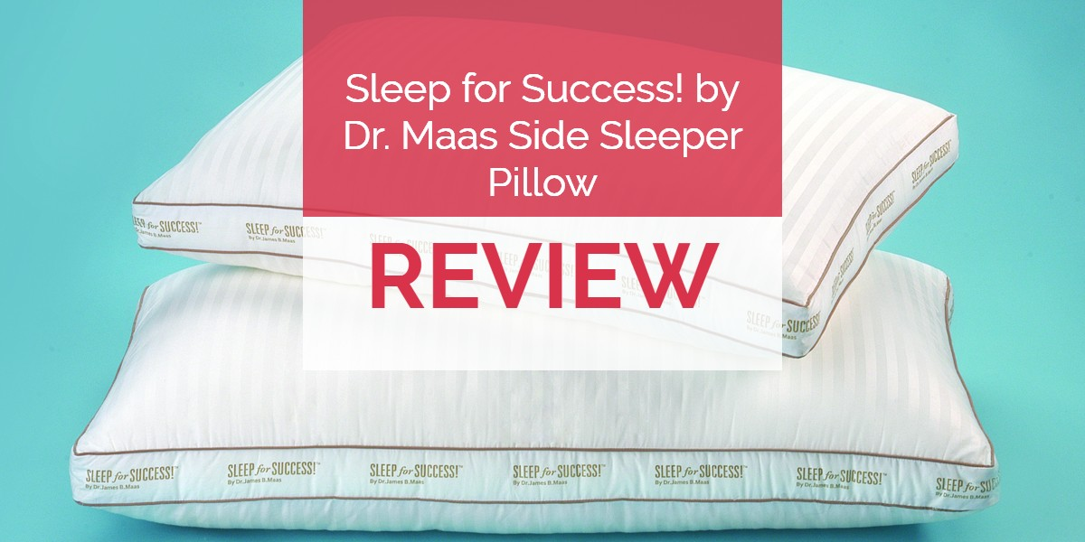 Sleep for Success Pillow Review