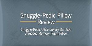 Snuggle-Pedic Pillow Review