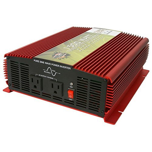 Tiger Claw 1500W True Sine Inverter