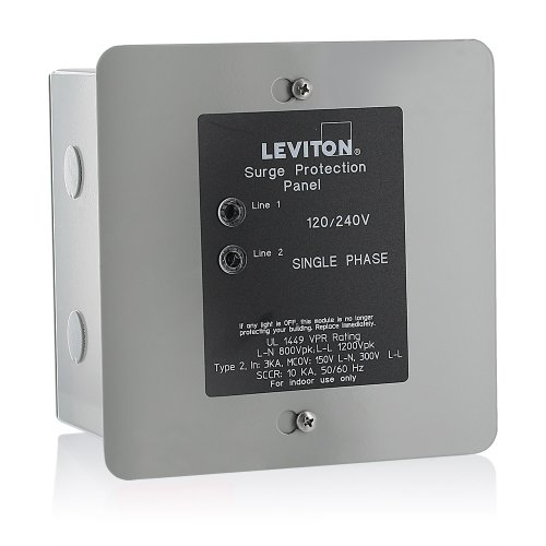 Leviton 51120-1 Whole House Surge Protector