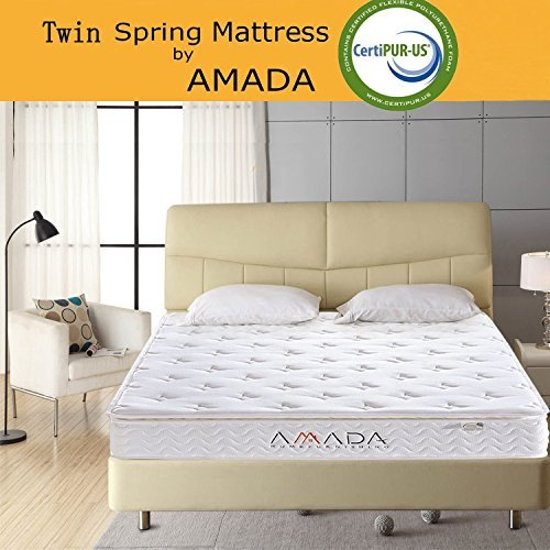 AMADA Twin Memory Foam Mattress