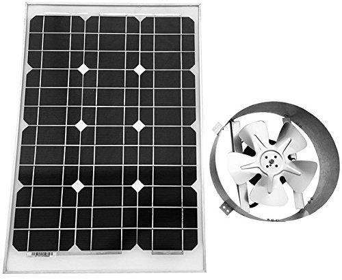 Amtrak Solar 40-Watt Solar Attic Fan