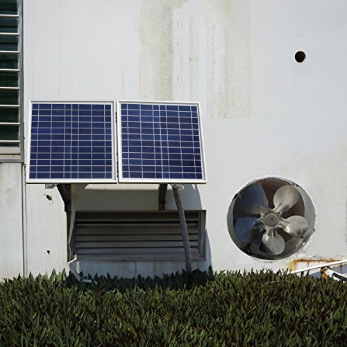 ECO-WORTHY 25W Solar Attic Fan