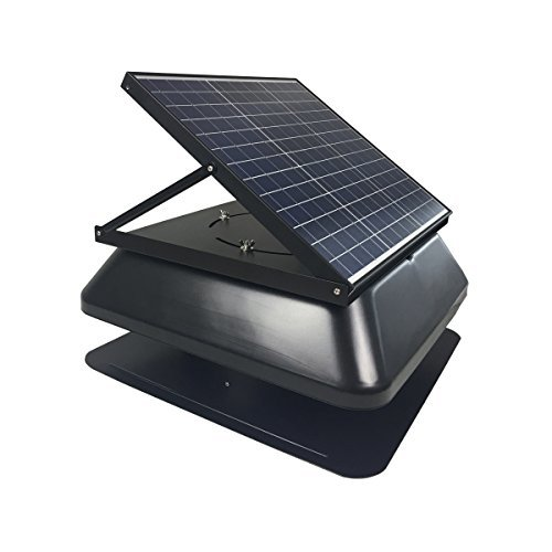 HQST 30W Solar Attic Fan
