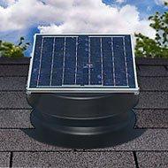 Natural Light 36-Watt Solar Attic Fan
