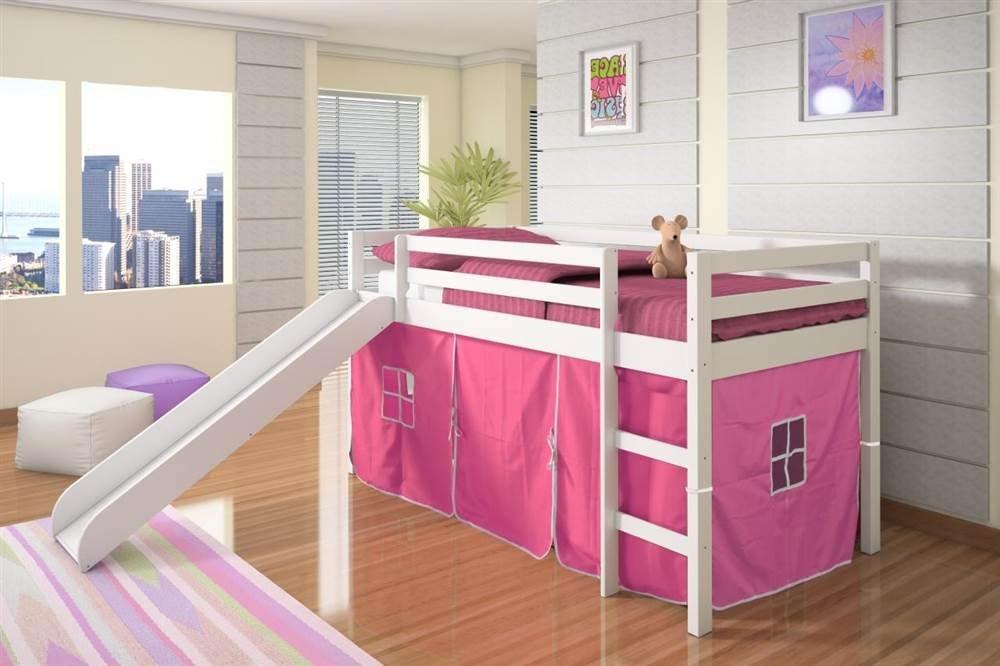 Donco Kids Twin Tent Loft