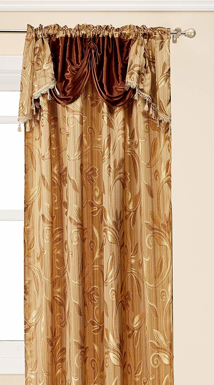 Elegance LinenLuxury Design Jacquard Curtain