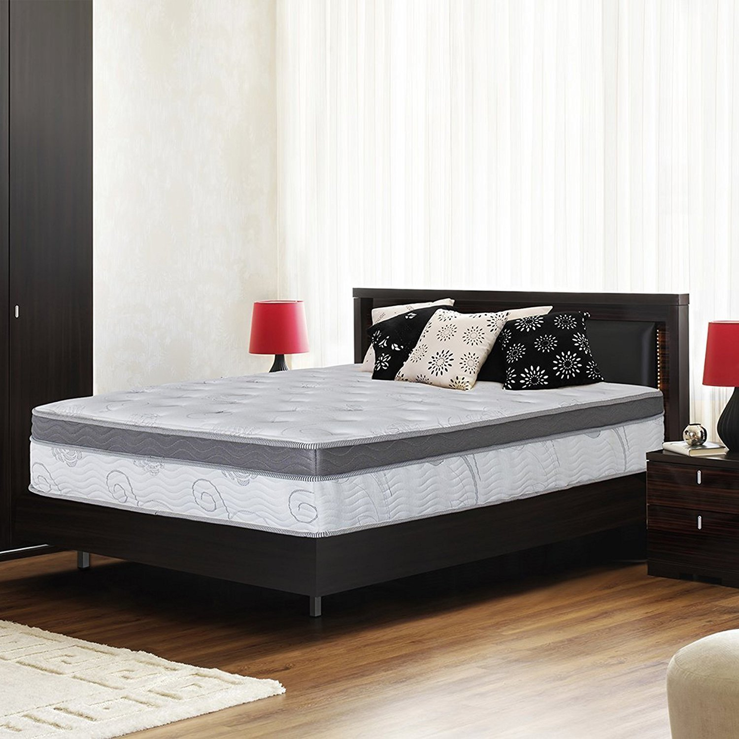 Galaxy Hybrid Gel Infused Memory Foam and Pocket Spring Mattress