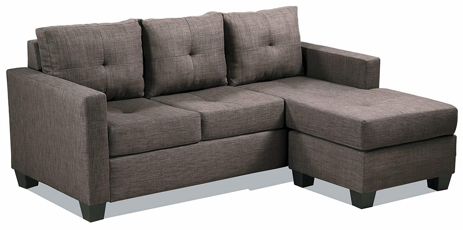 Homelegance Phelps Contemporary Tufted Sectional Sofa