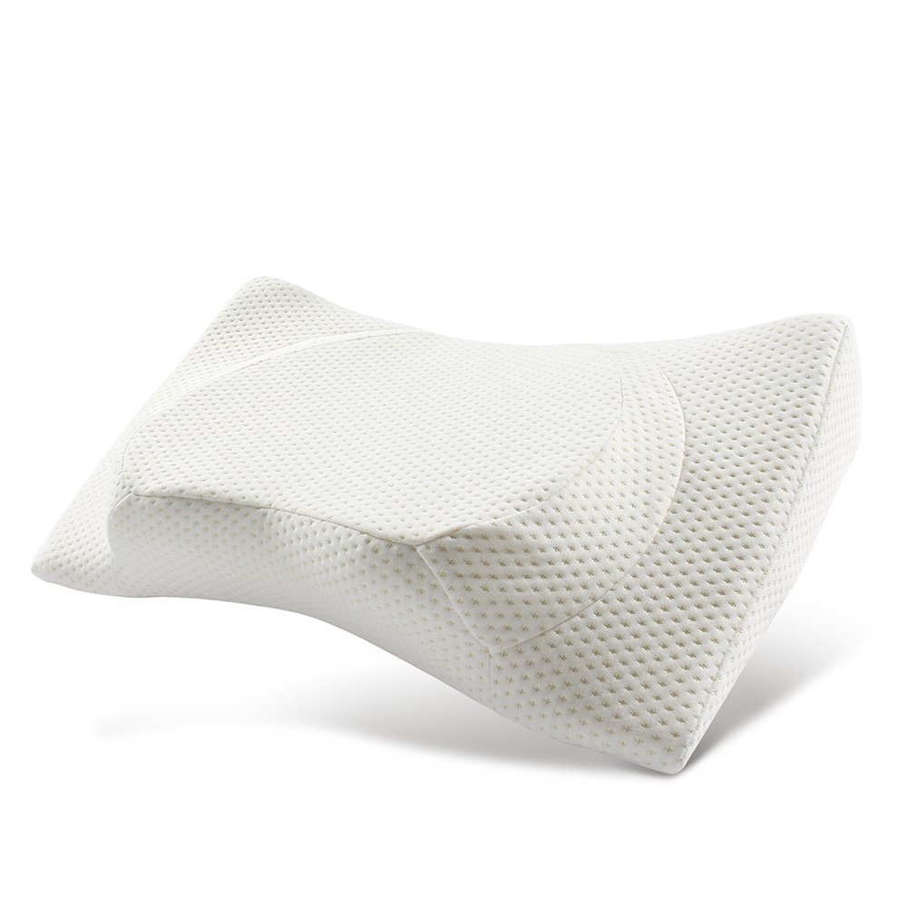 Neck Pain Ergonomic Pillow for Back Sleepers Side Sleepers and Stomach Sleepers