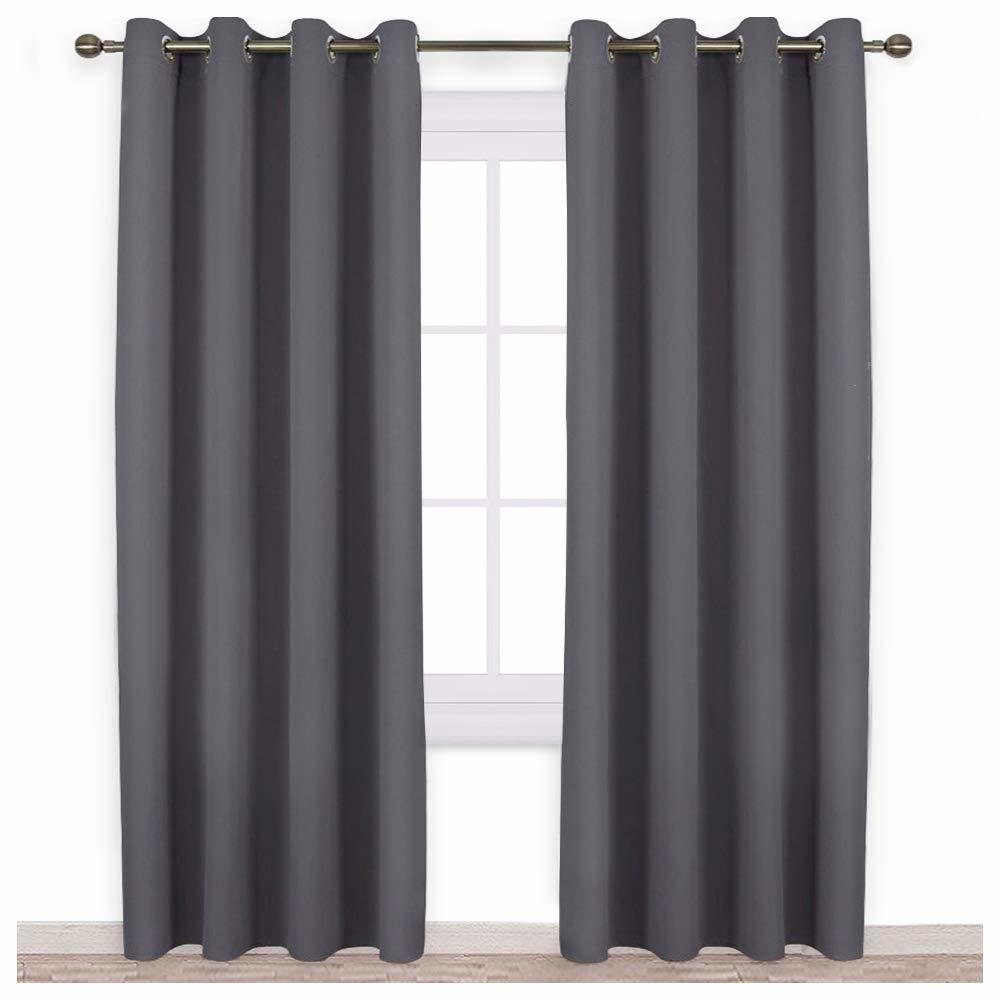 Soundproof NICETOWN Blackout Curtains Panels