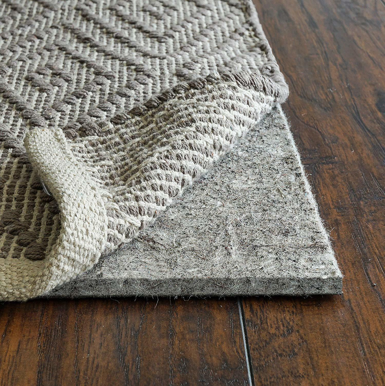 Superior Lock Premium Non Slip Rug Padding for Hardwood Floors