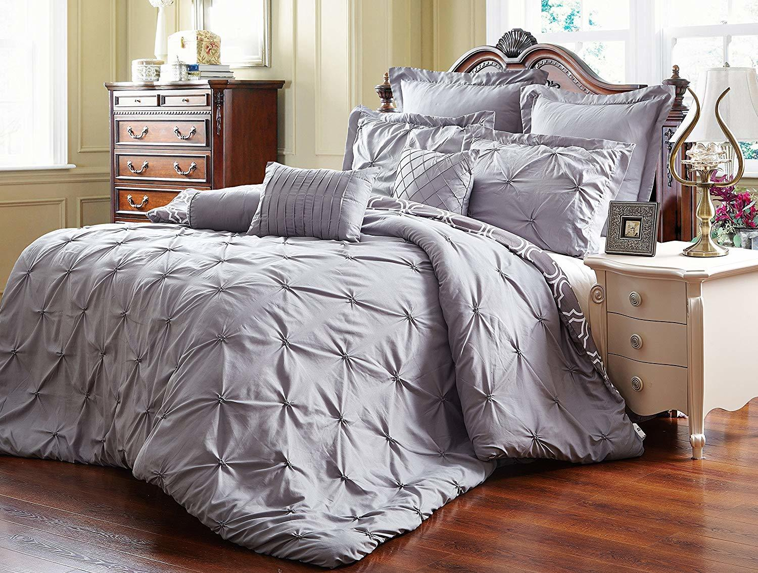 Unique Home 8 Piece Comforter Set