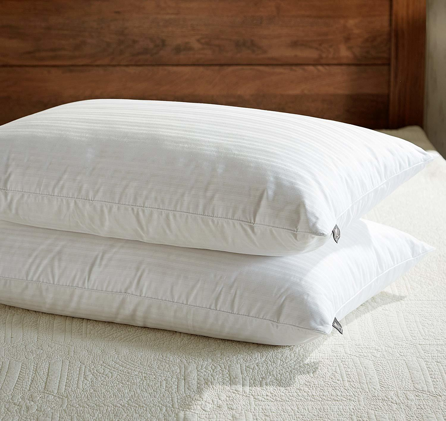 downluxe Goose Feather Down Pillow